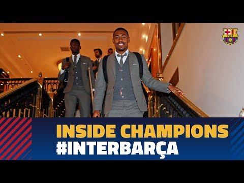 INTER 1-1 BARÇA   Inside Champions Mp3