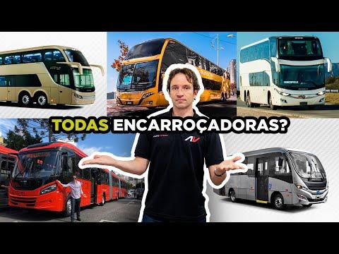 🚍Isso VOCÊ NÃO SABE: Veja quais são (TODAS) Encarroçadoras de ÔNIBUS Rodoviários e Urbanos from YouTube · Duration:  17 minutes 19 seconds