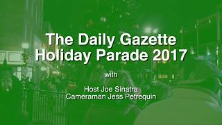 Schenectady Holiday Parade 2017 with Joe Sinatra