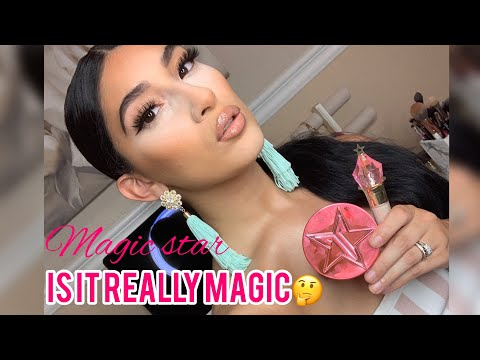 Jeffree Star Magic Star Concealer + Powder Review thumbnail