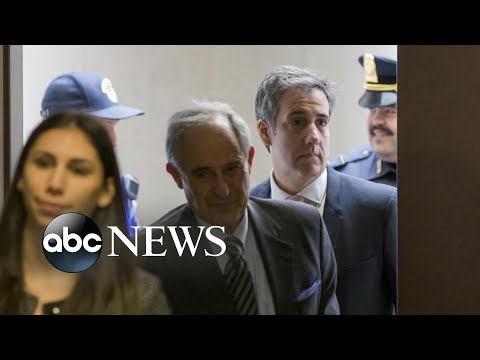 Michael Cohen arrives on Capitol Hill today to testify