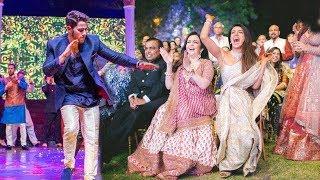 Priyanka Chopra And Nick Jonas Sangeet Ceremony Video