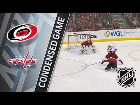 01/11/18 Condensed Game: Hurricanes @ Capitals
