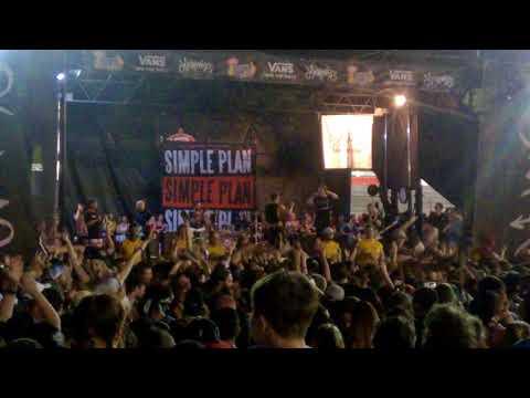 Simple Plan - I'm Just a Kid (Vans Warped Tour 2018 Nashville, TN)