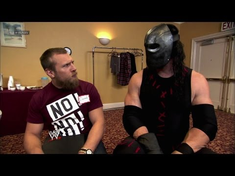 Daniel Bryan receives anger management class: Raw, Aug. 27, 2012
