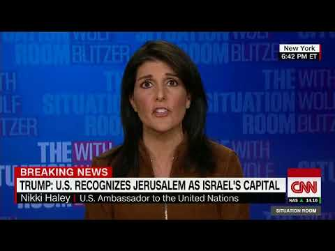 MOVING US EMBASSY TO JERUSALEM INTERFERES WITH NOTHING - See below in Description section