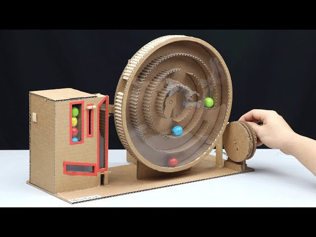 Build Amazing Gumball Game without DC Motor