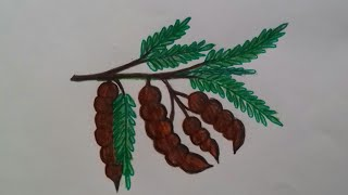 How to draw tamarind