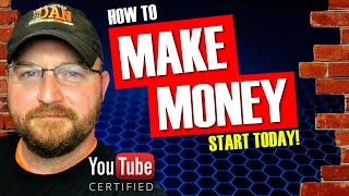 How To Make Money With Your Youtube Channel | START EARNING TODAY!