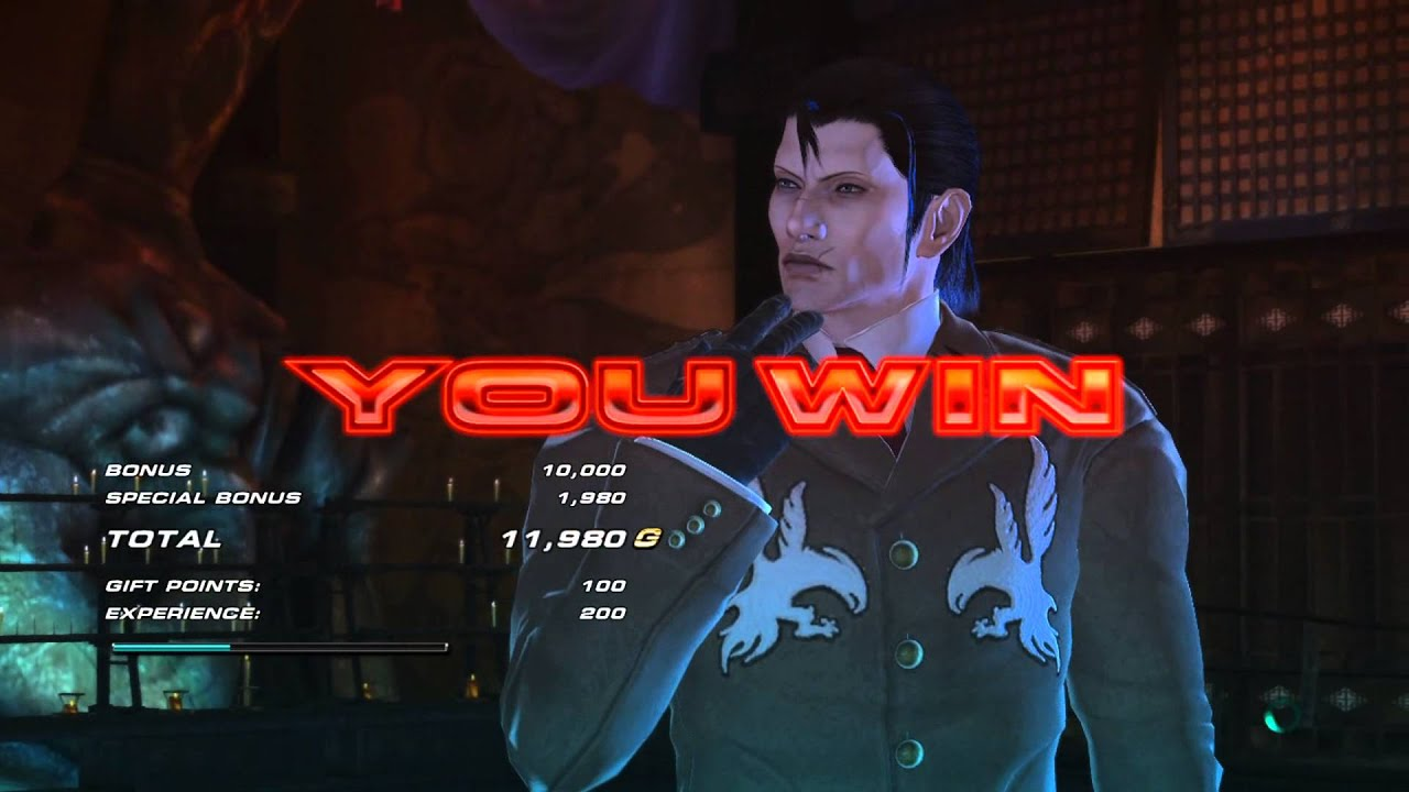 Tekken Revolution - Zanar ( Raijin ) Dragunov Online Ranked ...