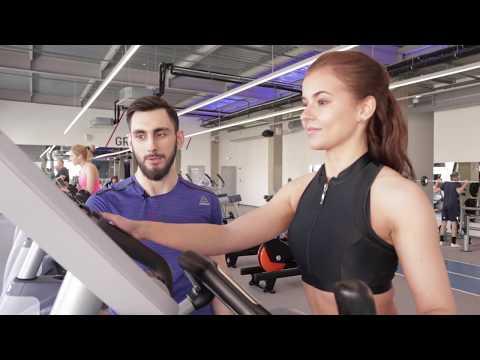 Тренировка в тренажёрном зале для начинающих (девушек). Подборка упражнений на похудение.