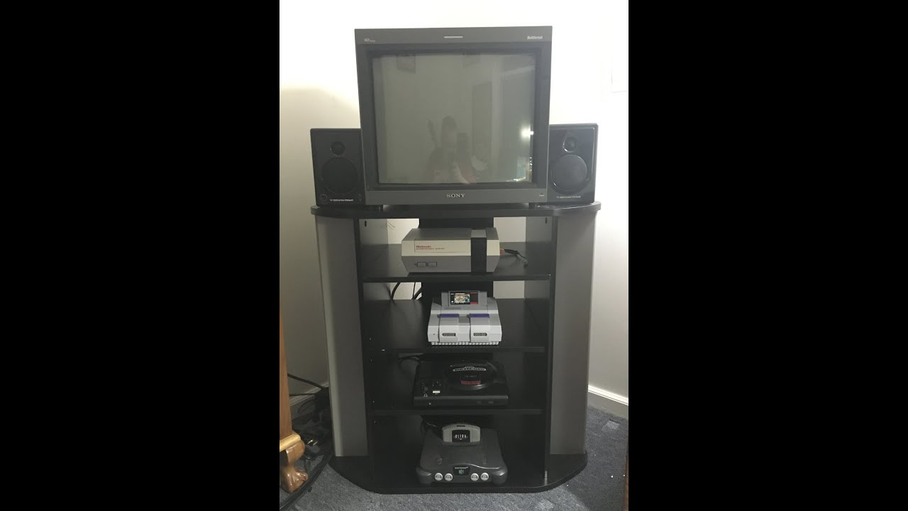 gaming tv stand The Perfect TV Stand for Retro Gaming!!!