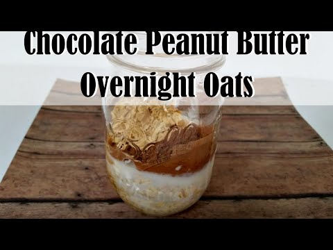 Peanut Butter Fruit Overnight Oatmeal