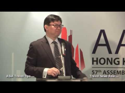 Future of HKIA - Airport Authority Hong Kong Press Conference on 15 November 2013 - HD
