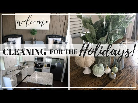 HOLIDAY CLEANING TIPS | PLACES YOU FORGET TO CLEAN | CLEANING FOR THE HOLIDAYS