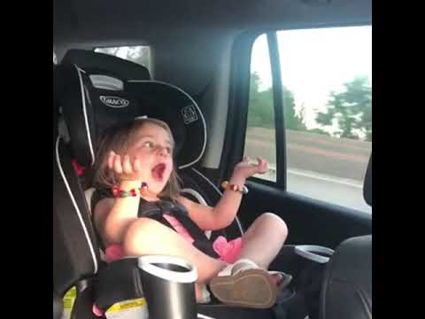The KiddChris Show - Toddler Can't Help Herself When Her Favorite Jam Comes On The Radio