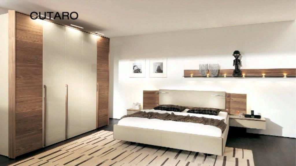 мебель для спальной комнаты Cutaro от Hulsta Youtube