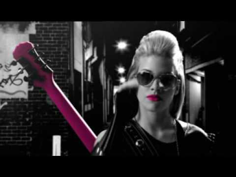 Jasmine Rae  Pink Guitar