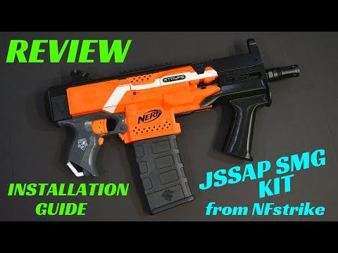 [Review] Worker F10555 JSSAP SMG Nerf Stryfe Kit with Installation Guide