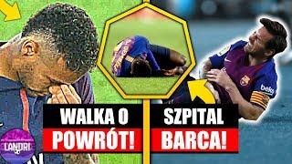 Neymar WALCZY o powrót do gry! Fc Barcelona i KONTUZJE!