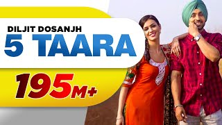 Download Hindi Video Songs - 5 Taara (Full Song) - Diljit Dosanjh | Latest Punjabi Songs 2015 | Speed Records