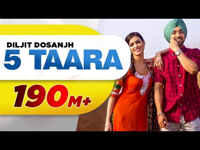 5 Taara (Full Song) - Diljit Dosanjh | Latest Punjabi Songs 2015 | Speed Records