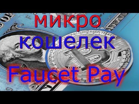 Обзор микро кошелька Faucet Pay и проверка на выплату вывод на PAYEER