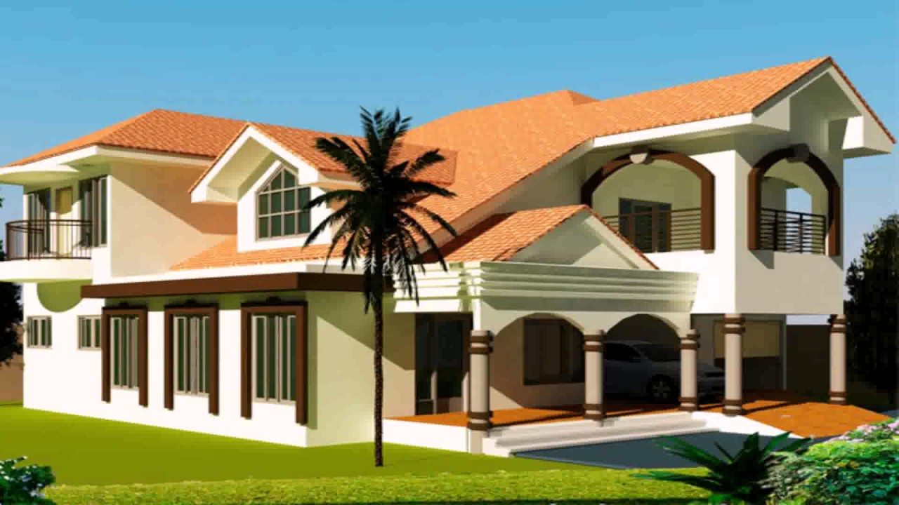 House Plans Designs 6 Bedroom - YouTube