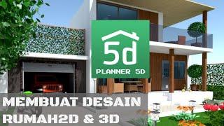 Review - aplikasi Planner 5D - membuat desain rumah dan dekorasi di 2D & 3D tanpa keahlian khusus