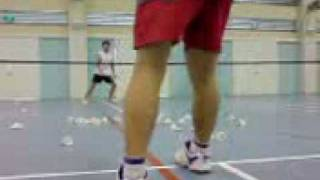 badminton lesson for Sembawang secondary student