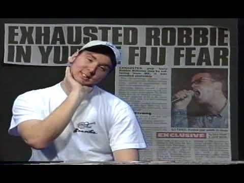 Andy Dutton L@3 News Studio Rawfeed 1999 - Stockport College Archive -