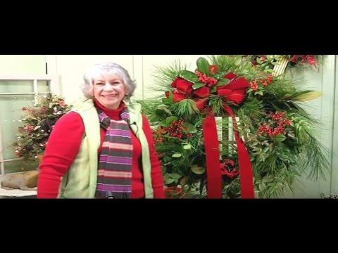 How to Make a Christmas Wreath Using Fresh Greens- Nancy Alexander (edition 2016)
