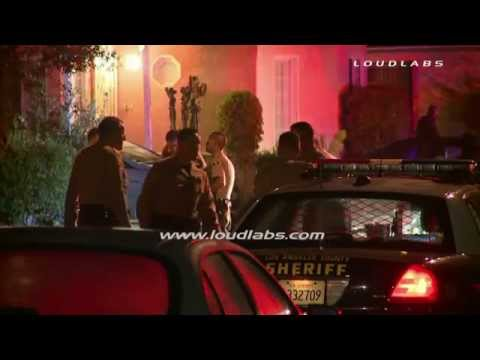 Two Dead, Possible Murder Suicide / Rosewood - South LA   RAW FOOTAGE