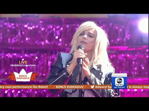 """Bebe Rexha: """"Meant To Be"""" - Live at Good Morning America"""