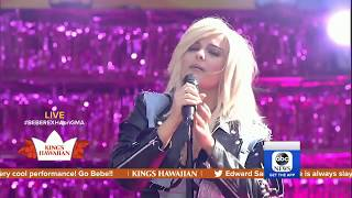 "Bebe Rexha: ""Meant To Be"" - Live at Good Morning America"