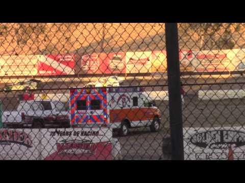 Tim Cecil Heat Race Bakersfield Speedway 10-8-16
