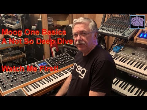 Moog One Basics, Watch This First, A Not So Deep Dive. Top 10 Features.