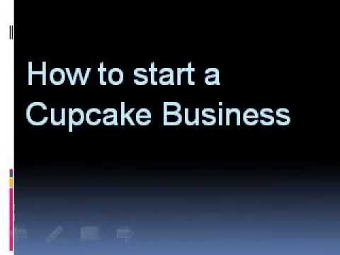 how to start an online cupcake business