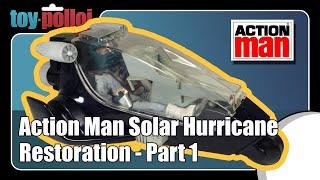 Action Man Solar Hurricane Stickers