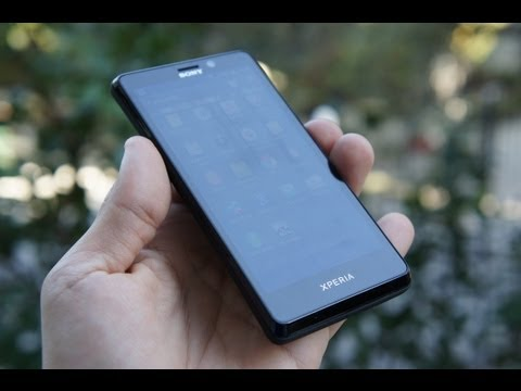 Sony Xperia T hands-on (Greek)