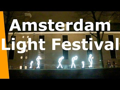 Amsterdam Light Festival Water Colours Tour
