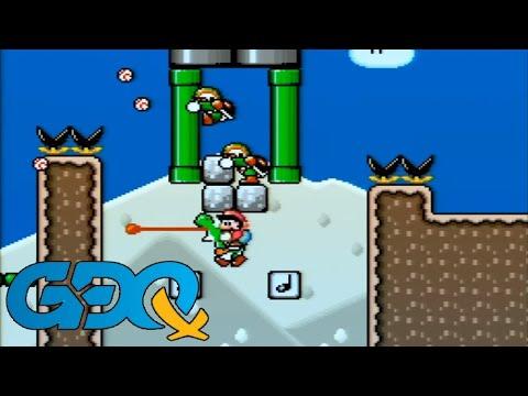TASBOT plays Kaizo Mario World 3 - GDQx2018