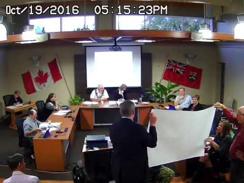 Council Meeting - Oct 19, 2016 - Part 1 (audio missing from source file)