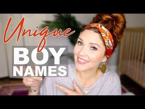 UNIQUE Baby BOY Names!