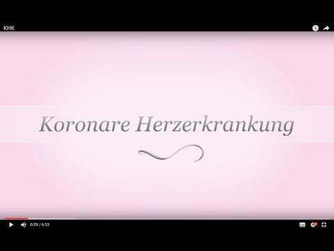 KHK, koronare Herzerkrankung 2016 aktuell