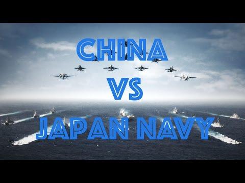 China vs Japan Navy