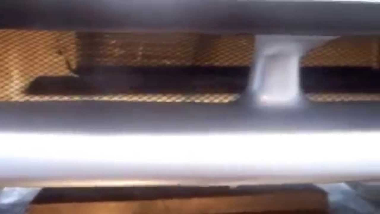 Сетка на штатный бампер 2115 - YouTube