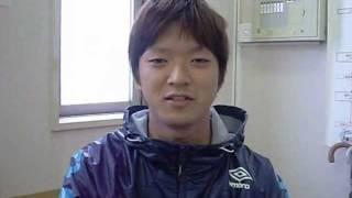 2011春 和歌山大学ホッケー部 同志社戦終了後 主将インタビュー
