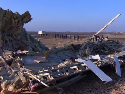 UK: Explosive May Have Downed Russian Airplane