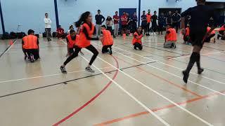 Kho-Kho: Kingston A (Catching) vs Kingston B